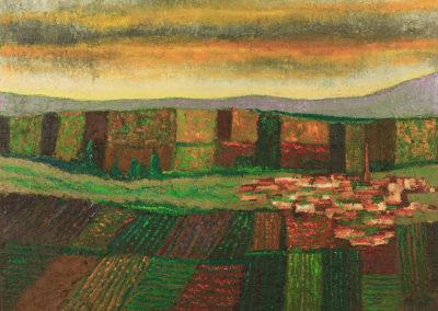 Village dans les terres
