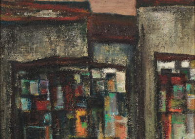 Immeubles et Panneaux d'affichage