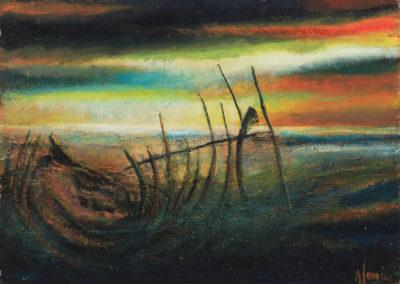 Carcasse de bateau